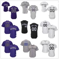 Wholesale Numbers Vests - Customized Colorado Rockies Mens Womens Kids Gray Road White Black Vest Sleeveless Personalized Sewn On Your Own Name Number Jerseys S,4XL