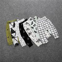 Wholesale pants lovely online - Baby clothes Leggings for Kids INS Hot Boys girls Infants Pants Toddler harem PP pant trouser lovely Full print Legging