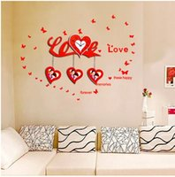 Wholesale Time Watch Love - For a long time of wooden craft clock love wedding decoration mute watches electronic products JT9003