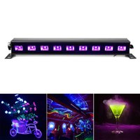 100% brandnew Luz UV preta AC90V-240V Led Stage Light Wall Washer Luzes para festa, DJ, Show, House Disco Lamps EU / UK / US / AU Plug