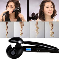 Magic Hair Curler Automatico - Pro Professional Pro Design Hair HAIR curler professionale HAIR CURLER Electric Spray Steam Auto