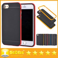 Wholesale Sgp Neo Hybrid Iphone 4s - For iPhone 7 7 Plus SGP Ultra Slim Neo Bumblebee Hybrid Shockproof Cover Cases for iPhone 4 4S 5 5S SE 6 6S