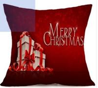 Wholesale Head Restraints - 1pcs Christmas festival pattern pillow Car sofa with decorative head restraints Home sofa pillow A20