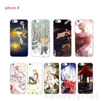 Wholesale Wholesale Iphone Anime Case - For iPhoneX Cartoon Anime Phone Cases TPU shockproof Protection case for 8 8plus 7 7plus 6 6plus