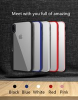 Wholesale Cases For Ipone - 2017 new Shockproof Transparent Case for iPhone X Soft Gel TPU Case Clear Back Cover for ipone x