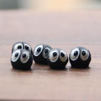 ingrosso miniature per giardini fiabeschi-Bricchetti neri carini elfi miniature miniature da giardino mini gnomes terrariums muschio resina artigianato figurine per decorazione giardino