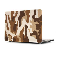 Wholesale Macbook Pro Shells - Army Camouflage Laptop Hard Cases For Macbook Air 11.6 12 13.3 Retina 15.4 Pro New 13.3Pro A1706 A1708 15.4pro A1707 Skin Protective Shell