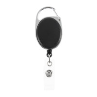 Wholesale Metal Reel Key Chain Holder - 1pc New fashion Retractable Pull Key Ring Chain Reel ID Lanyard Name Tag Card Badge Holder Reel Recoil Belt Key Ring Clip