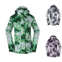 Wholesale Cheap Winter Waterproof Jackets - Wholesale-2016 Free Shipping Ski Jacket Waterproof Breathable Cheap Snowboard Jacket Spandex Ski Jacket Women Thermal Winter Ski Jacket