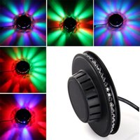 Wholesale Wholesalers Chandeliers Usa - RGB Sunflower Led Stage Light Voice-activated Led Night Club Stage Lighting Effect Laser Lumiere Chandelier Lustre for Christmas Party