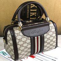 einzigartige mode handtaschen großhandel-Umhängetaschen Handtasche Designer Mode Frauen Boston Luxus Handtaschen Damen Umhängetasche Tragetaschen Pu-leder Manuelle Einzigartige Beliebte Taschen
