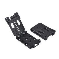 Wholesale Tool Clamp Outdoor - Multifunction Waist Clip Back Clamp K Sheath Scabbard Tools Black Outdoor Sport Camping Climbing Travel EDC Gear Wholesale 2504031