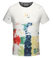Wholesale Fashion Milan Italy - Fashion Casual T-Shirt Men High Quality Summer Cotton T-Shirts O-Neck Milan Italy Classic Tee Tops White M-3XL