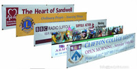 Wholesale Vinyl Banners Custom - Custom printing Outdoor Vinyl Banner Advertising PVC Vinyl Banner Customized fencing banner, ad with free shipping