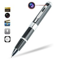 Wholesale Covert Voice Recorders - Hidden Camera Spy Pen 1080p Image & Voice Recorder Executive Multifunction Ball-Pen DVR Poratble Mini Covert Camera For Security