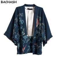 Wholesale Tunic Jackets For Women - BACHASH New women's coat suit jackets suit Casual and Work Wear One Button Blazer Tunic suit for women Fashion print fashion