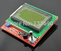 Wholesale Ramps Lcd 12864 - Wholesale-3D Printer Kit Smart Parts RAMPS 1.4 12864 Controller Control Panel LCD Display Monitor Motherboard Yellow green Module Hot Sale