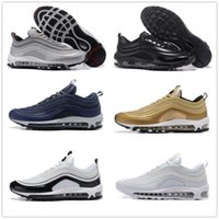 Hot Sale New Men Casual Shoes Airs Almofada 97 KPU Plastic Cheap Training Shoes Moda Atacado Outdoor Running Shoes Sneakers Tamanho 40-46