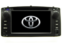 "Wholesale Navigation For Toyota Corolla - 2017 new free shipping 6.2"" Car DVD player for Corolla E120 2003 2004 2005 2006 2007 2008 gps navigation bluetooth radio player+map+camera"