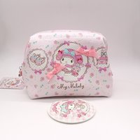 Wholesale Case Melody Free Shipping - Free Shipping Genuine My Melody Fashion Cosmetic Bags Cases High Quality Pu Portable Make Up Bag Toiletry Bag Travel Bags