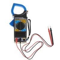 medidor de prueba de ohmios al por mayor-Al por mayor-Medidor de pinza digital DM-6266 Multímetro digital Abrazadera Meter Am Volt Ohm Medidor de prueba de aislamiento VEJ64 T50