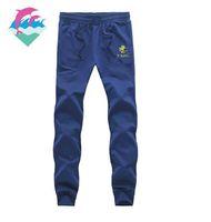 calça rosa venda por atacado-9887 s-5xl frete grátis Nova moda masculina calças casuais calças jogging golfinho rosa para pista e campo de corrida