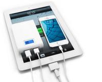 аккумуляторный блок питания сотовый телефон оптовых-12000mAh Power Bank зарядное устройство внешние зарядные устройства пакет 12000 мАч для сотового телефона iPhone 4 5 6 Plus Samsung S5 S4 HTC LG