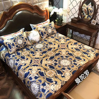 Wholesale Bedding Thread Count - High thread count 80yarn solid color bedding set 100% cotton fabric queen and king size available digit printing pvc bag packing weijiao01