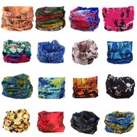 Wholesale Hair Scarves For Men - 2016 Multifunctional Outdoor Cycling Scarf Magic turban Sunscreen Hair band Riding mask cap for men Cycling