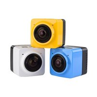 Original CUBE360 Mini Sports Action Camera 360 градусов Панорамный вид VR-камеры Встроенное видео WiFi с GVT100M H.264 1280 * 1042 F2.0 Len