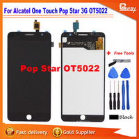 Großhandel - Full LCD DIsplay + Touchscreen Digitizer Assembly für Alcatel One Touch Pop Star 3G OT5022 5022X 5022D Schnell Versand