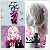 Gros-HOT Japan Anime DIABOLIK LOVERS Komori Yui cosplay cheveux mignon clip fille Hairpin