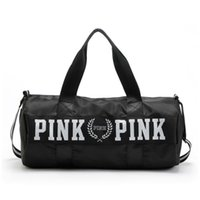 Wholesale Large Red Bowl - Canvas Storage Bag organizer Large love Pink Men Women Travel Bag Waterproof Casual Beach Exercise Luggage Bags handbags