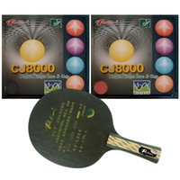 Wholesale Combo Table - Pro Table Tennis PingPong Combo Racket: Palio TCT and 2Pieces CJ8000 (BIOTECH) (H40-42) Factory Direct Selling Favourite