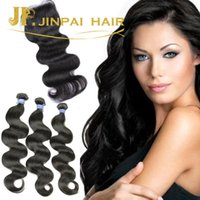 Wholesale Xbl Hair - body wave virgin hair bundles with closure full cuticle human hair weaving xbl for one free closure