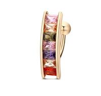 ingrosso anello anti goccia-Anelli anti-allergici dell'acciaio inossidabile dell'anello dell'argento 18K Placcato oro di cristallo che piega Jewlery per le donne Trasporto di goccia