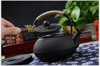 ingrosso vasi da tè in ghisa-Giappone meridionale ghisa bollitore vecchio ferro pentole in ghisa giapponese teiera salute caldaia scala pentola di ferro 900 ml