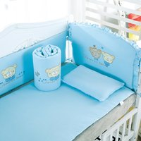 Wholesale 2016 new sets baby bedding set cotton crib bumper baby cotton sets baby bed arround bumper