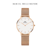 Wholesale Modern 19 - Good quality TOP luxury 32mm brand Daniel Wellington's womenwatches fashion leather stylerose gold ladies dw watches montre femme relojes