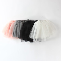 Wholesale Tutu Veil - Soft Baby Girl Pettiskirts Net Veil Skirt Kids Cute Princess Clothes Birthday Gift Toddler Ball Gown Party Kawaii TUTU Skirts