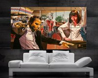 Wholesale Photo Art Posters - Pulp Fiction Poster print wall art 10 parts giant Poster print art huge giant photo No577
