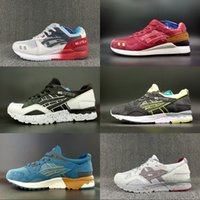 Wholesale new shoes style black for men for sale - Group buy Asics Gel Ltye III Running Shoes New Style For Women Men Fashion Brand Lightweight Breathable Athletic Sneakers Eur Come With Box