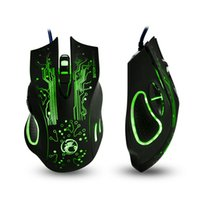 Wholesale Mouse X5 - 2016 Hotsale Estone x9 2400DPI LED Optical 6D USB Wired Game Mouse gamer For PC computer Laptop perfect upgrade combine x5 x7