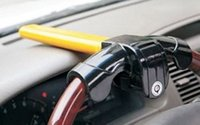 Wholesale Wholesale Wheel Lock Key - General Car Steering Wheel Theftproof Lock Auto Anti-Theft Retractable Lock