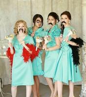 Wholesale wedding mustache - 58pcs set 25pcs=1450pcs Photo Booth Props Mustache Photobooth For Wedding Decoration Birthday Party Event & Party Supplies
