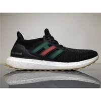 Wholesale Wholesale Fall Fabric - 2017 Top Best Mens Shoes Cucci X Ultra Boost Triple Black BB3909 Men Running Shoes Ultra Boosts Ultraboost Sport Sneaker