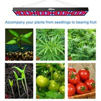 Wholesale Led Panel Grow Red - LED Grow Light, JCBritw 60W Plant Grow Light Panel Aluminum Include Switch with Red Blue Spectrum for Hydroponic Indoor Planting Greenhouse