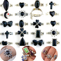 Wholesale Jewelry Ring Changes Color - Mixed Lot 100X 12 Color Women Men Change Mood Adjustable Ring Jewelry Rings Fashion Jewelry [MDR08*100]