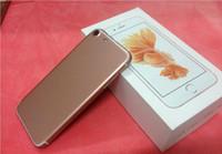 Wholesale Digital Mini Radio - goophone i7 Quad core 4.7 inch goophone 4g ram cellphone Android 6.0 MTK6580 512M 8G fake 1G 64G 3g mini phone
