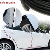 Wholesale Car Door Edge Protection Strips - Car Styling Door Protection Strips Rubber Edge Sticker Scratches Vehicle Quite Honda Accord Civic CRV HR-V Odyssey Si Fit Pilot shadow 2017